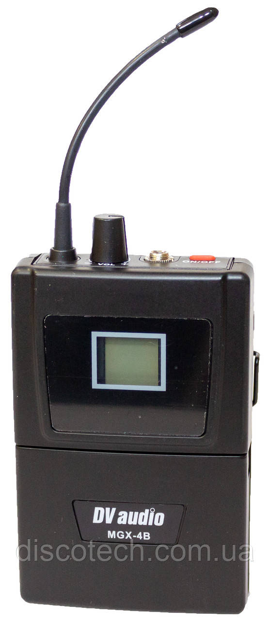 Поясной передатцик и гарнитура для радиосистем серии MGX, UHF