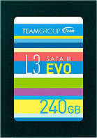 "SSD Накопитель Team L3 EVO 240GB 2.5"" SATAIII TLC (T253LE240GTC101)"