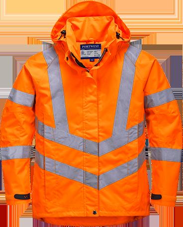 Женская светоотражающая воздухопроницаемая куртка  LW70