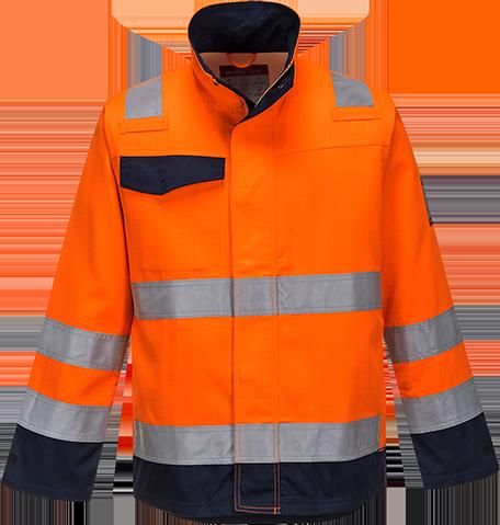 Куртка Modaflame RIS темно-синяя/оранжевая MV35
