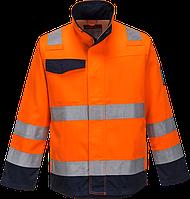 Куртка Modaflame RIS темно-синяя/оранжевая