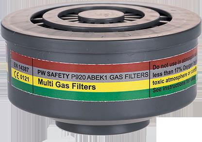 Газовый фильтр ABEK1 со специальным резьбовым соединением P920
