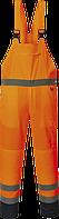 Светоотражающий контрастный полукомбинезон без подкладки PJ52