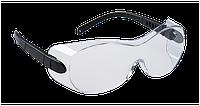 Очки для ношения поверх корректирующих очков Portwest PS30 Прозрачный/черный, фото 1