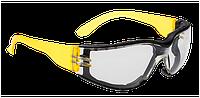 Очки огибающей формы с обтюратором Portwest PS32 Прозрачная линза, фото 1