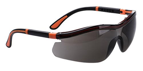 Неоновые защитные очки Portwest PS34 Дымчатая линза