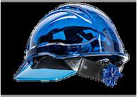 Вентильована захисна каска Peak View з храповим механізмом PV60 Синій