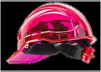 Вентильована захисна каска Peak View з храповим механізмом PV60 Рожевий