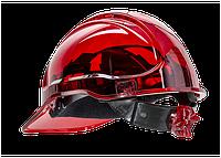 Вентильована захисна каска Peak View з храповим механізмом PV60 Червоний