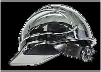 Вентильована захисна каска Peak View з храповим механізмом PV60 Димчастий