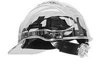 Защитная каска Peak View Plus с храповым механизмом PV64 Прозрачный