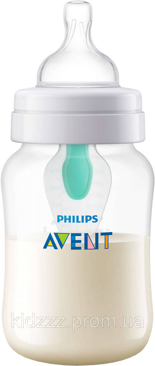 Бутылочка для кормления Anti-colic c клапаном AirFree  260 мл Philips AVENT с пингвином (Филипс Авент)