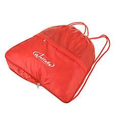 Рюкзак-котомка Wallaby красный 35х38х10  для обуви и сменки ткань нейлон  в 28272кр, фото 3