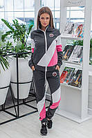Женский утепленный спортивный костюм / трехнитка с начесом / Украина 6-907, фото 1