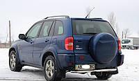 Защита заднего бампера из нержавеющей стали Toyota Rav4 2000-2005 г.в.