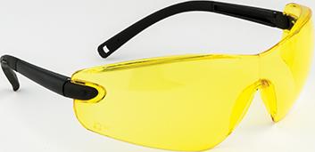 Профильные защитные очки PW34 Желтая линза