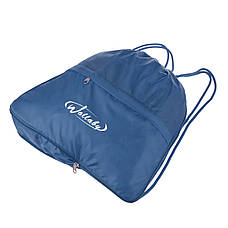 Рюкзак-торбинка Wallaby тканина синій нейлон 35х38х10 для взуття і сменки в 28272син, фото 3