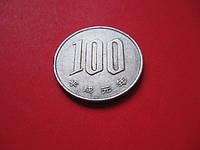 Японские 100 йен 1989 г. Эпоха Хирохито (Сёва) (1950 - 1989), фото 1