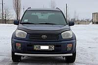 Защита переднего бампера одинарный ус Toyota Rav4 2000-2005 г.в.