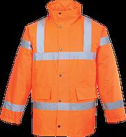 Светоотражающая куртка для дорожных работ RT30