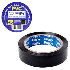 "Ізоляційна стрічка ПВХ 25м ""Rugby"" чорна, RUGBY 25m ""Black"""