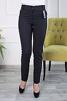 Женские брюки с карманами Перис черные