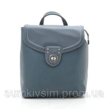 Рюкзак женский зеленый DAVID JONES 005