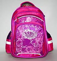 591635 розовый Рюкзак ортопедический школьный