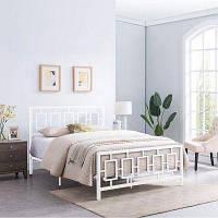Двуспальная металлическая кровать Wurfel