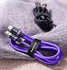 Кабель USB Type-C Baseus для быстрой зарядки передачи данных CATZH-A 5A (1м), фото 5