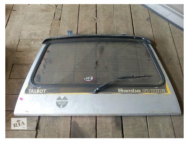 Talbot Samba кришка багажника