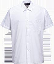 Классическая рубашка с короткими рукавами S104