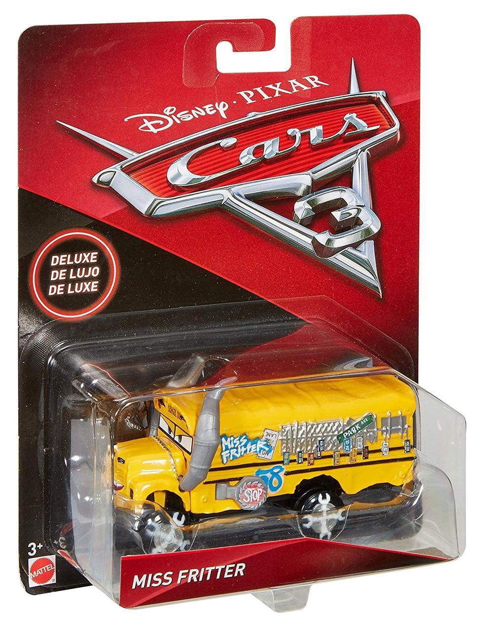 Тачки 3 (Disney Pixar Cars Miss Fritter) Міс Крихта, М'ясорубка.