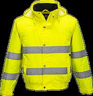 Светоотражающая куртка-бомбер S161