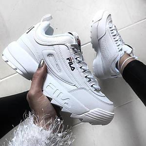Мужские кроссовки Fila Disruptor 2 White 41