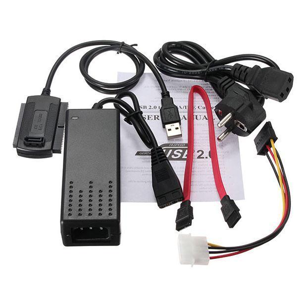 Переходник USB SATA IDE 2.5/3.5 c блоком питания (1145)