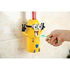 Автоматический дозатор зубной пасты Миньон Wistmart, фото 3