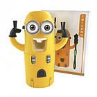 Автоматический дозатор зубной пасты Миньон Wistmart, фото 6