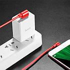 Дата кабель Hoco U37 Long Roam USB to Micro USB (1.2m) Черный, фото 3