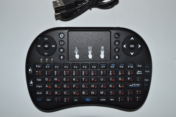 Клавиатура беспроводная для SMART TV MVK08 (TRS305)