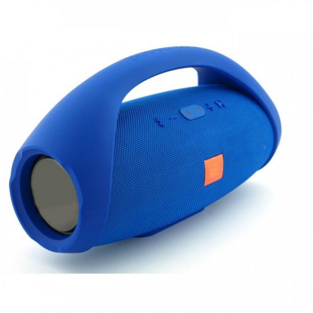 Портативная bluetooth колонка Boombox BIG FM MP3 Синяя (46349)