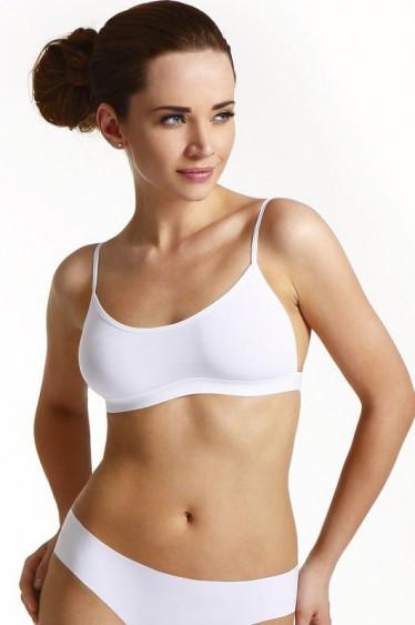 Женский топ белого цвета, модель Sally Eldar.