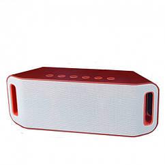 Bluetooth колонка MP3 плеер SPS S204 Красный (sp4038)
