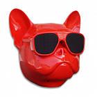 Колонка беспроводная Dog PRO портативная Bluetooth голова Бульдог, фото 3