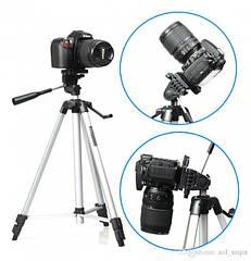 Штатив с телескопической осью Weifeng WT-330A