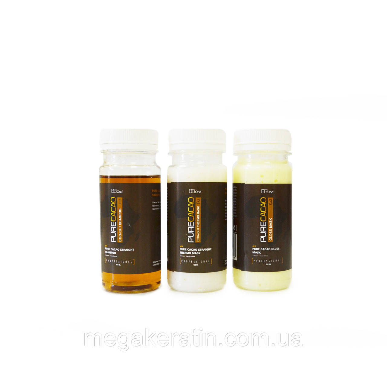 BB ONE Pure Cacao Line набор 3*100 мл