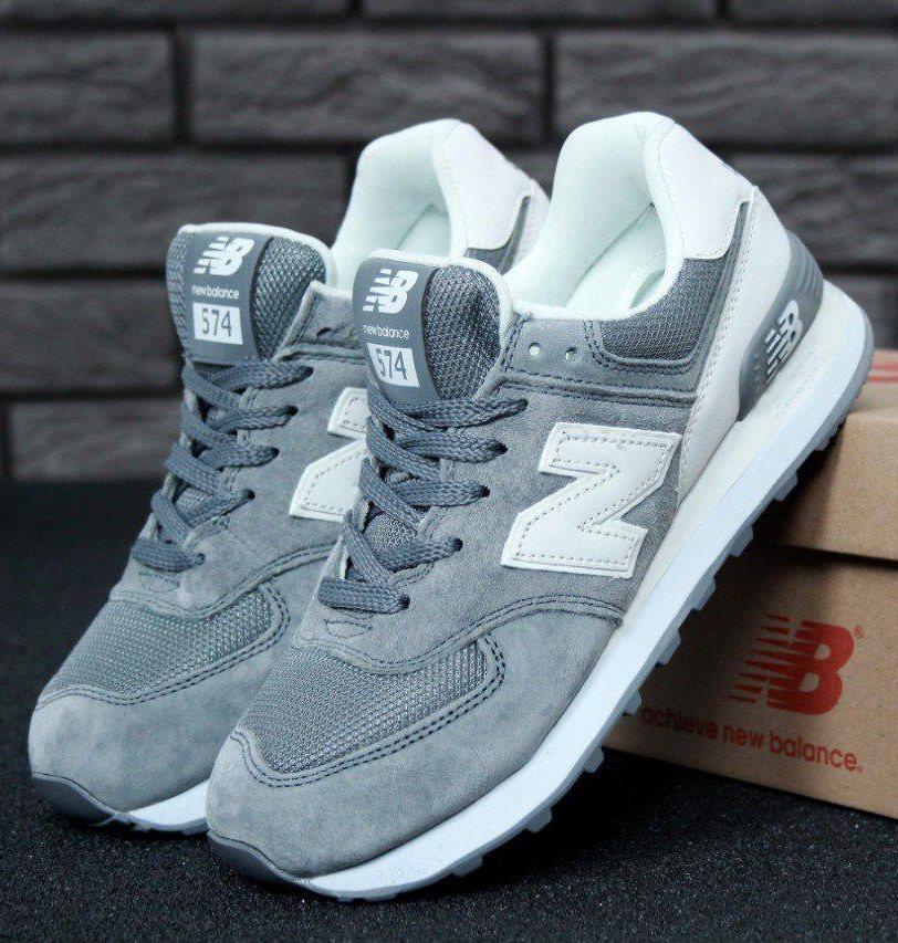 Женские кроссовки New Balance 574 Classic Grey