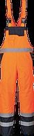 Контрастный полукомбинезон с подкладкой Portwest S489, Оранжевый, L