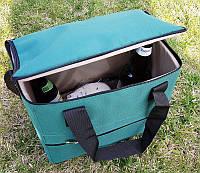 Термосумка (сумка-холодильник, термобокс) для еды и бутылочек с ручками 15л OSPORT (FI-0126)