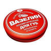 ФИТОкосметик Вазелин косметический для губ Клубника, 10г